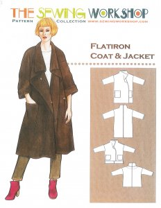 Sewing Workshop Collection - FlatIron Coat & Jacket