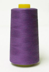 Wholesale Serger Cone Thread - Purple 824  -    50 spools per case - 4000yds per spool