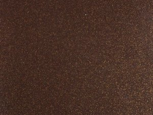 Sparkle Vinyl - Brown with Copper flecks