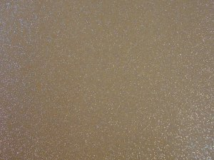 Sparkle Vinyl - Caramel with silver flecks