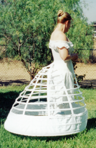 Truly Victorian #103 - 1865 Elliptical Cage Crinoline - Hoop Skirt Pattern