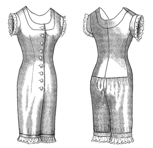 Truly Victorian #105 - 1876 Combination Underwear Sewing Pattern