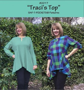 Saf-T-Pockets Travelwear #2017 - Traci's Top