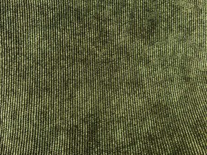 VF195-04 Grimm Cozy - Loden Green and Black Stretch Corduroy Fabric by Telio