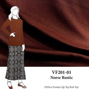 VF201-01 Norse Rustic - Earthy Sophia Double Knit Fabric