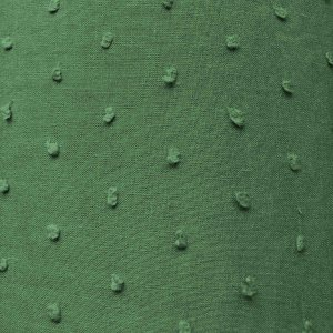 Dotted Swiss Cotton Batiste Fabric - Avocado