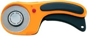 Olfa Rotary Cutter #9655  - 60mm with Ergonomic Design