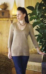 Loes Hinse #5213 V Neck Tunic