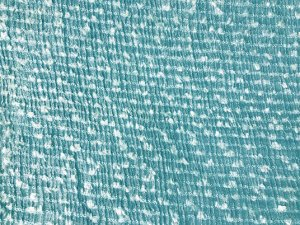 Yasmine - Silk and Metal Fabric - Blue gold