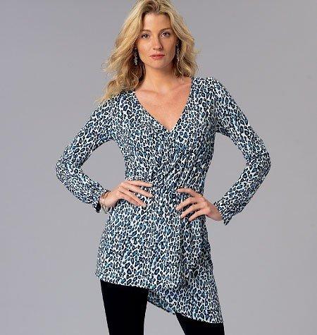 Kwik Knit Patterns : Vogue Fabrics > Kwik Sew Patterns > Kwik Sew Pattern #4085 - Misses...